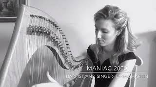 Maniac 2000 Harp Cover YouTube Thumbnail