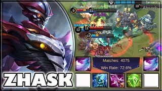 4100 GAMES WITH ZASK! 72.6% WINRATE [by 쟈봉이] BUILD & GAMEPLAY ~ TOP 1 GLOBAL ~ MOBILE LEGENDS