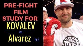 Sergey Kovalev Film study for Eleider Alvarez