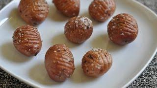 Roli Poly Potatoes Aka Mini Hassleback Potatoes