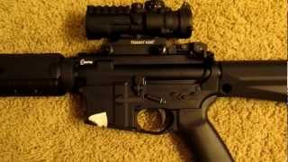 bcm bfh 16 mid lenght upper with primary arms 3x compact scope