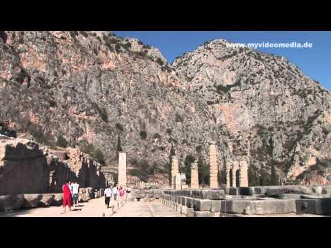Delphi, Orakel - Griechenland, Greece HD Travel Channel
