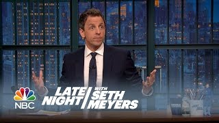 Seth's Story: Angry Pittsburgh Steelers Fan - Late Night with Seth Meyers