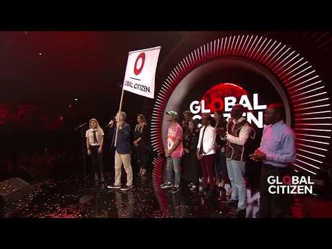 Mauricio Macri Calls on Leaders to Support Education at Global Citizen Festival Hamburg