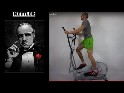 Kettler Fitness Crosstrainer AXOS Cross M drehzahlabhängiges Magnetbremssystem
