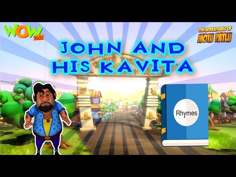 John and his kavita - Compilation Part 1 - 30 Minutes of Fun! - 3D Animation Cartoon for Kids