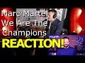 Marc Martel Covering Queens We Are The Champions REACTION mp3