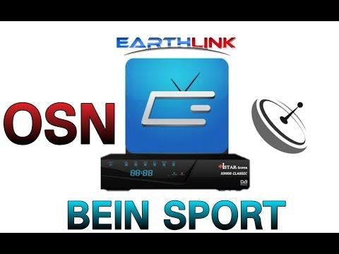 مشاهدة قنوات ايرث لنك earthlink tv على الهواتف و ملف القنوات الخاص ب ستلايت