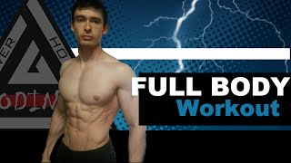 20 Minutes Intense Full Body Workout Routine at Home - Burn Fat and Build Muscle