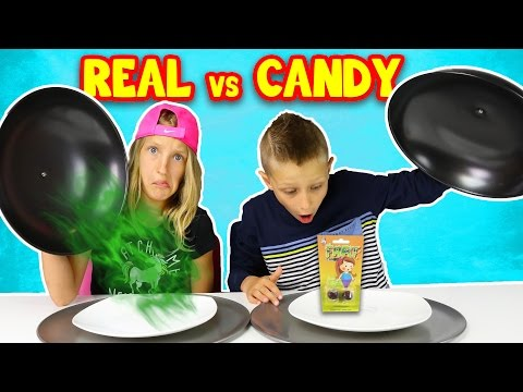 Thumbnail: CANDY vs REAL FOOD