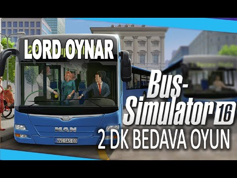 Bus Simulator 2016 NASIL İNDİRİLİR ve KURULUR ( TORRENT ) CRACK