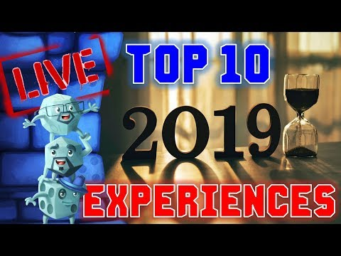 Top 10 Experiences of 2019