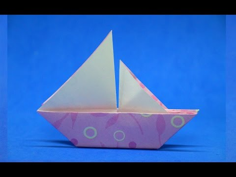 How to Make a Paper Boat / Simple & Easy - Step by Step / DIY beauty and easy