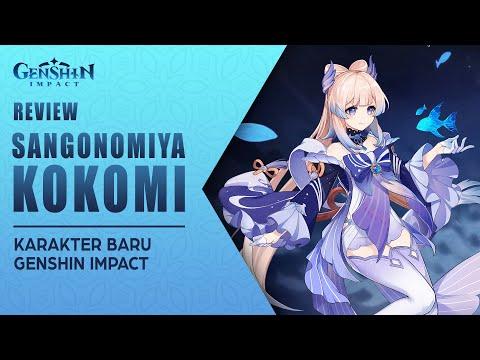 UPNEWS#34 - SANGONOMIYA KOKOMI  KARAKTER BARU GENSHIN IMPACT!