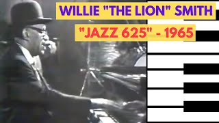 """Willie """"The Lion"""" Smith - The Lion on BBC's """"Jazz 625"""" - 1965 (full video!)"""