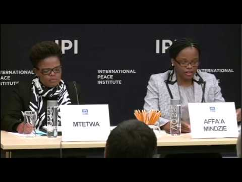 Advancing the Rule of Law, Building Peace in Zimbabwe