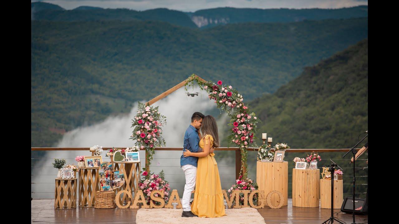 Pedido de Casamento na Serra Gaúcha