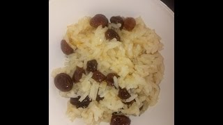 Recipe: Rice and Raisins, Cooking ideas