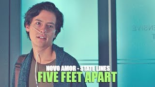Novo Amor - State Lines (Lyric video) • Five Feet Apart Soundtrack �