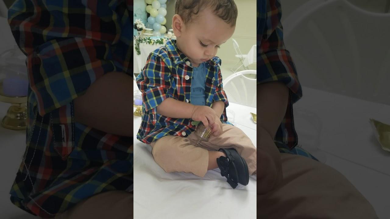 Baby Jake dancing to Ethiopian music - YouTube