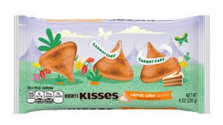 Carrot Cake Hershey Kisses Review