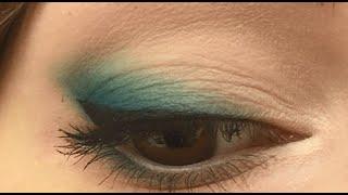видео Макияж что бы поднять уголки глаз