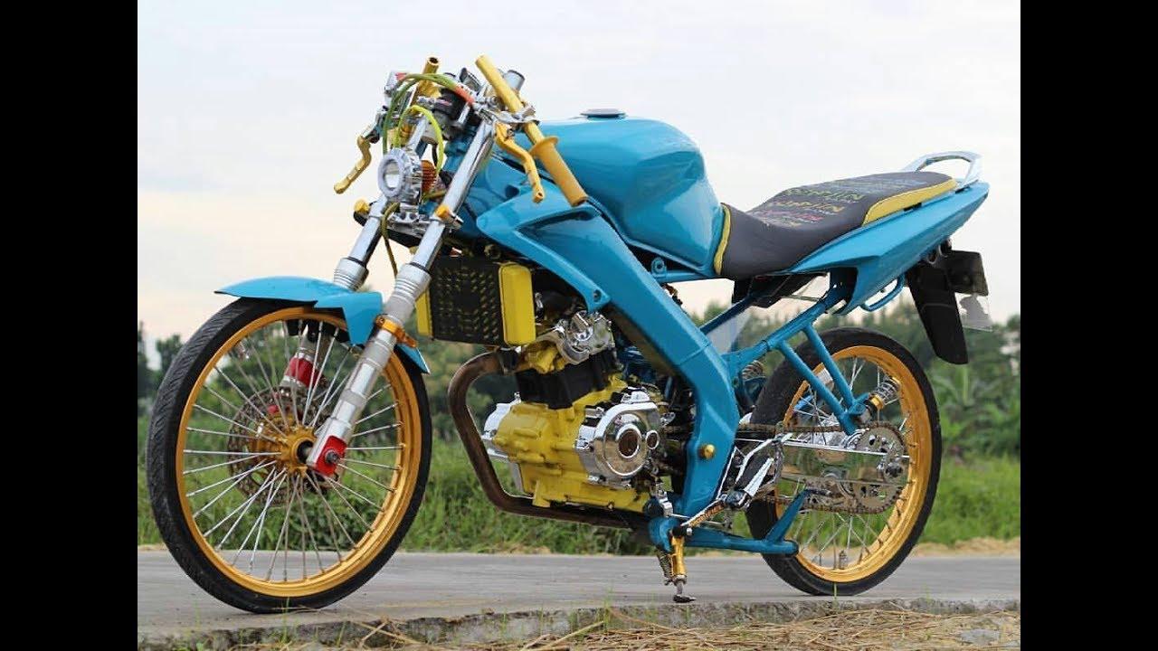 Modifikasi Yamaha Vixion Jari Jari Super GAUL!!!