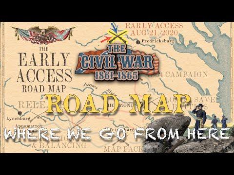 The Civil War 1861-1865 Roadmap |