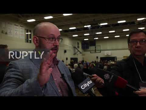 Canada: Albertans Call For Independence At Calgary 'Wexit' Rally