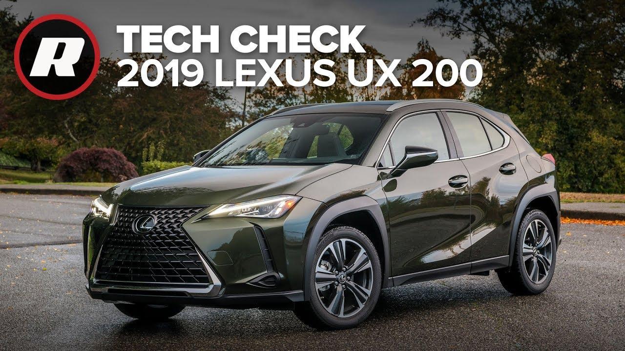 Tech Check: 2019 Lexus UX 200 | Still frustrating