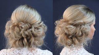 Причёска в греческом стиле без лака | Авторские причёски | Hairstyles by REM | Copyright ©