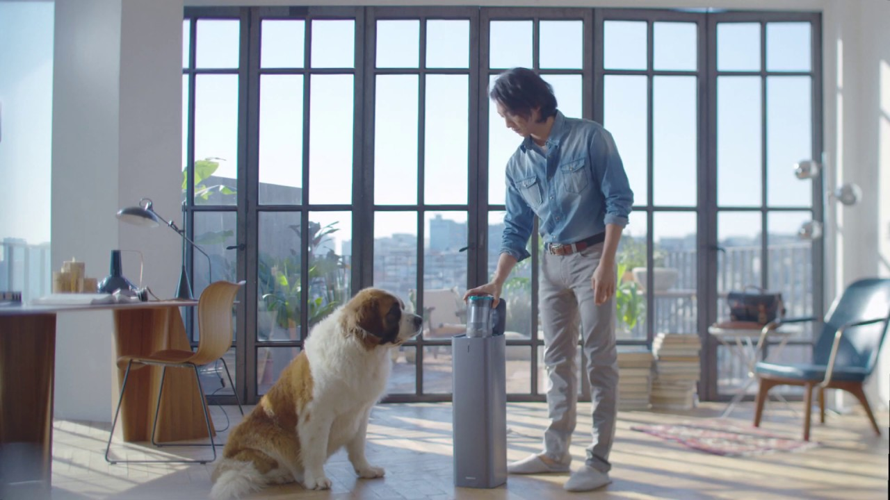 Samsung Jet™ & Clean Station™: Sag Tschüss zu Tierhaaren | Fini les poils d'animaux