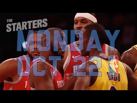 NBA Daily Show: Oct. 22 - The Starters