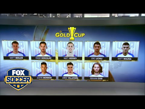 Check out the 2017 Gold Cup roster for USMNT