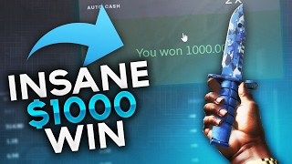 INSANE $1000 WIN?! - CSGOBounty