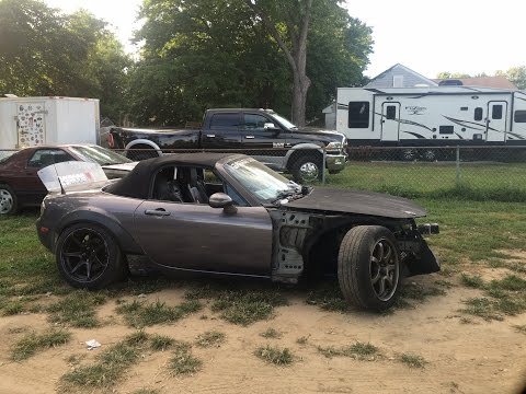 Mad Mike Drift Angle On This Miata!!! Drift cars