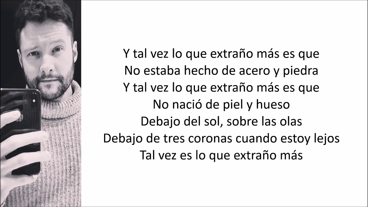 Calum Scott - What I Miss Most (Letra en español) #1