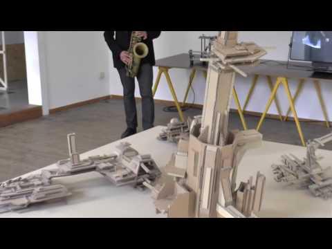 European Improvisation Network: Free Sax im Neuen Kunstverein Aschaffenburg e.V.