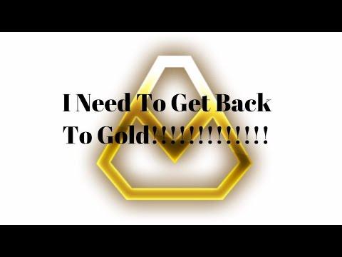I really need gold back ( rocket league )