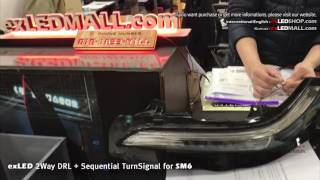 exLED SM6 2Way DRL + Sequential Turn-Signal Module
