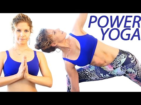 Power Yoga For Beginners Day 1 – For Energy, Confidence and Positivity Flow 25 Minute Workout