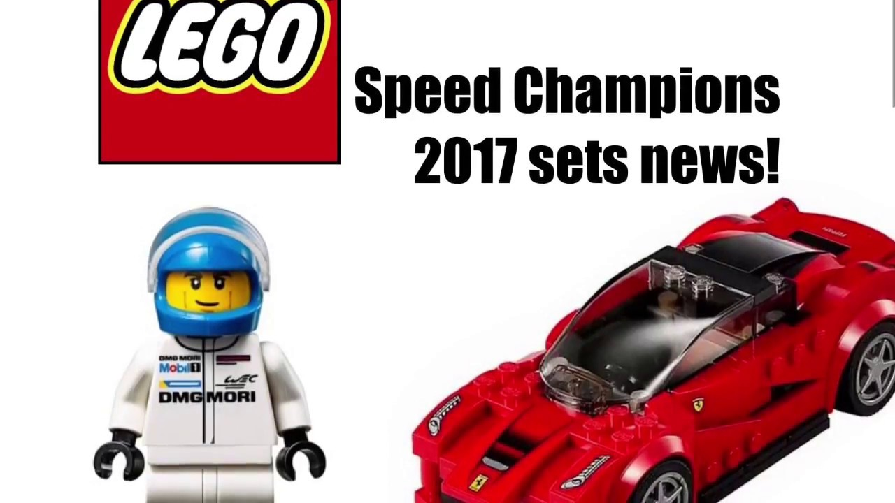 lego speed champions 2017 sets news irma 39 s special youtube. Black Bedroom Furniture Sets. Home Design Ideas