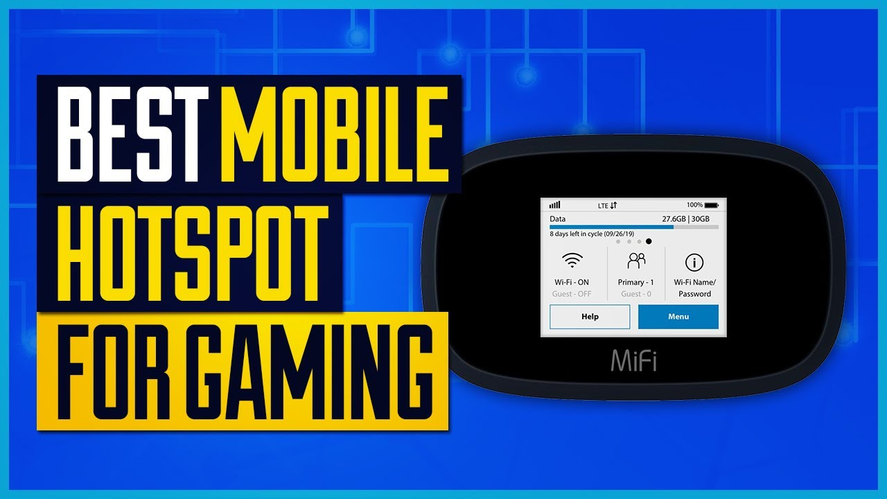 Best Mobile Hotspot For Gaming Top 5 Picks Youtube