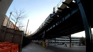 ⁴ᴷ⁶⁰ Walking NYC : River Avenue, Concourse, Bronx from 157th Street to 167th Street