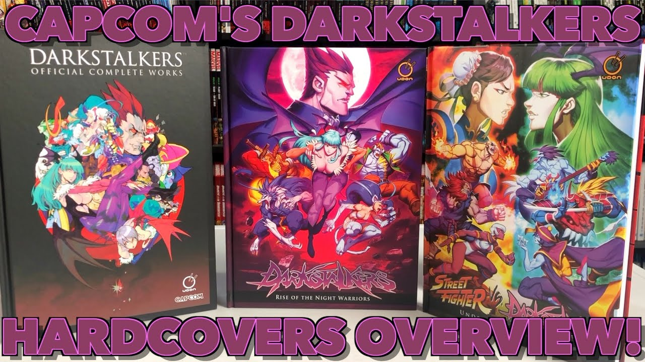 street fighter vs darkstalkers underworld warriors