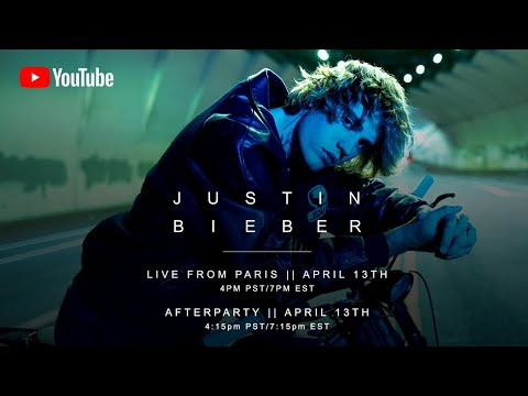 Live from Paris (Livestream) – Justin Bieber