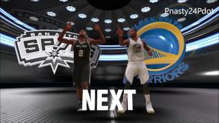 2K18: Wow.. Spurs Vs Warriors Western Conference Finals Preview What If 2k18  look like 2K14