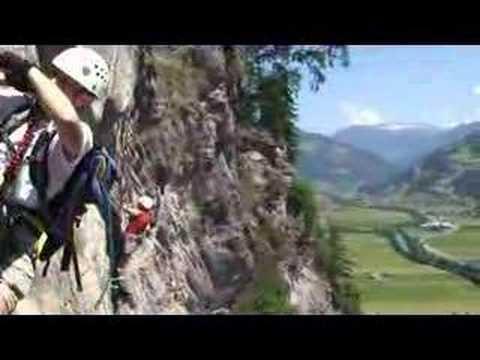 Klettersteig Zimmereben : Zimmereben klettersteig
