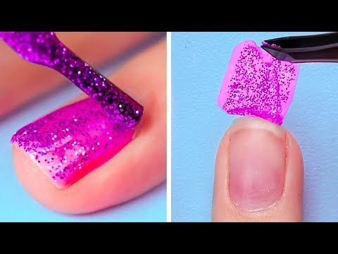 30 NAIL POLISH TRICKS FOR A PERFECT DIY MANICURE