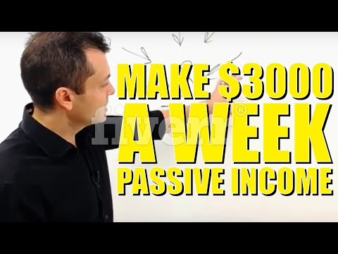 How To Make Money Online Fast 2017 - How To Make Passive Income Online 2017 (Make $3000+ A Week)
